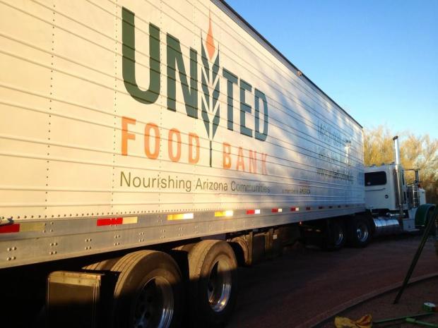 food bank trailer