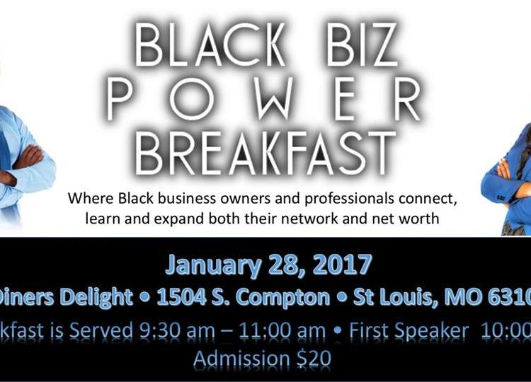The Black Biz Power Breakfast Series: Connect Learn Expand