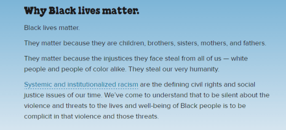 Ben and Jerry's Support the Black Cause