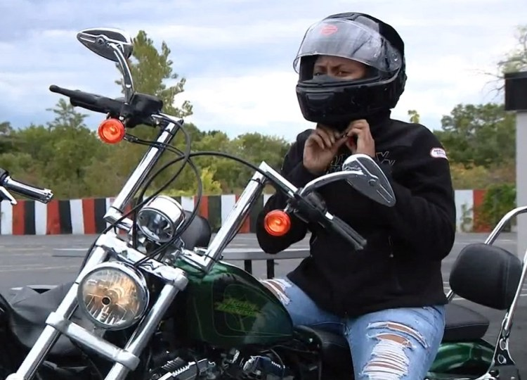 First Black Female Harley Davidson Technician Makes History