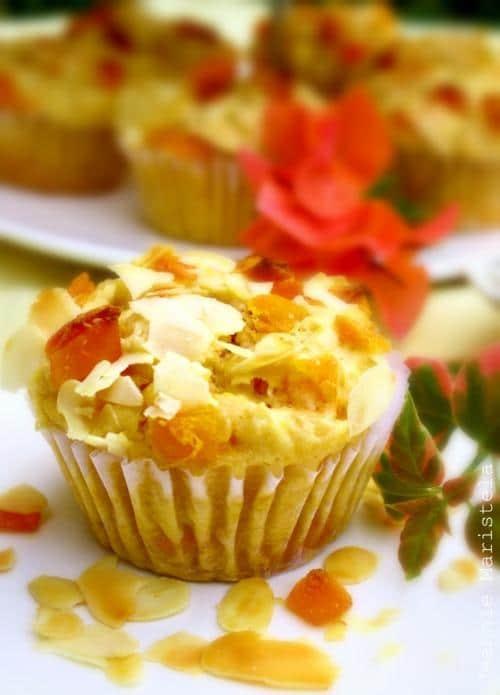Mango and Almond Muffins