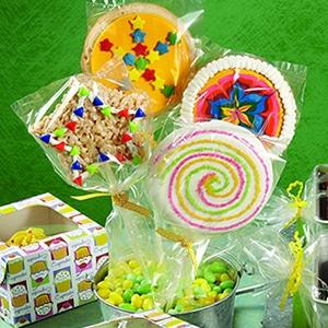 Kaleidoscope Cookie Pops