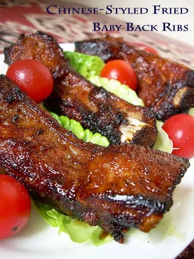 Chinese Style Fried Baby Back Ribs