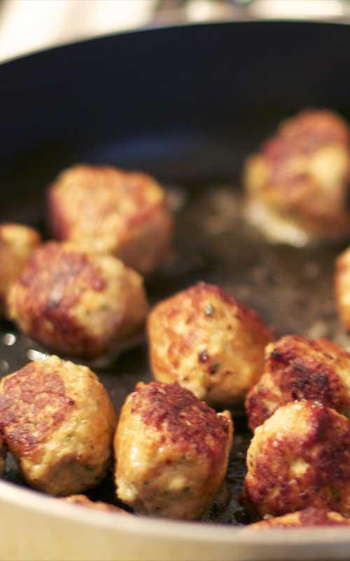 Lemon Cumin Chicken Meatballs