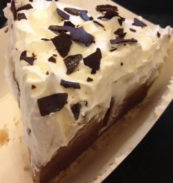 Peanut Butter and Chocolate Pudding Pie