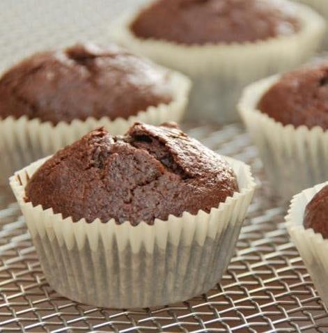 Triple Chocolate Banana Cupcakes
