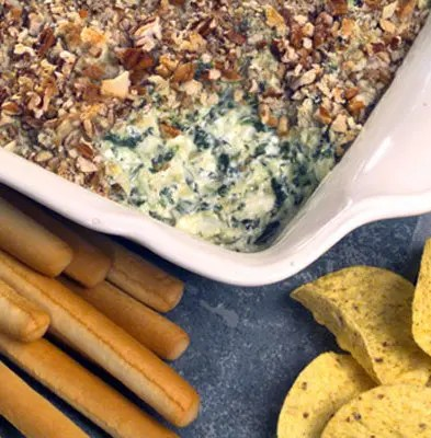 Pecan-crusted_Artichoke_and_Cheese_Spread