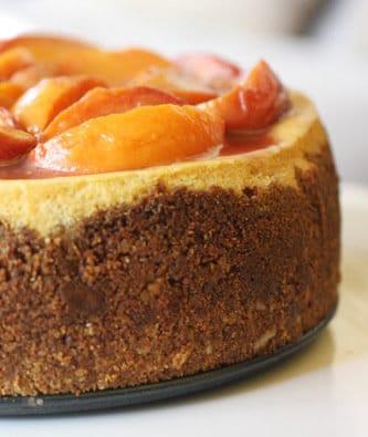 Savannah Peach Cheesecake