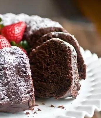 Chocolate Yogurt Bundt Cake