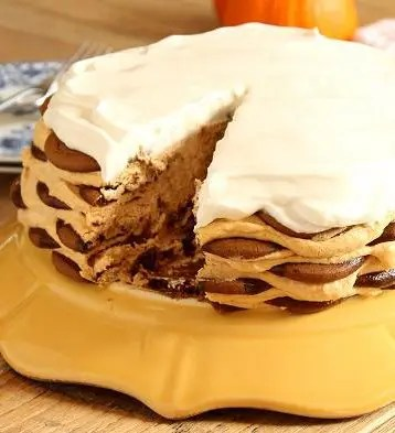 ginger_snap_pumpkin_icebox_cake