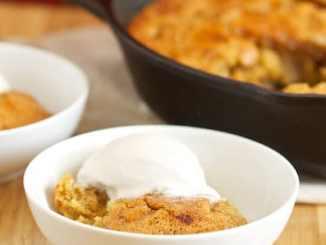 Recipe for Apple Pie Skillet Cake