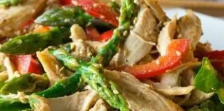 Recipe for Chicken and Asparagus Salad