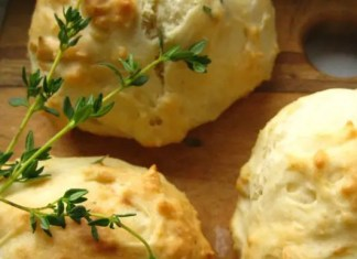 Recipe for Buttermilk Drop Scones