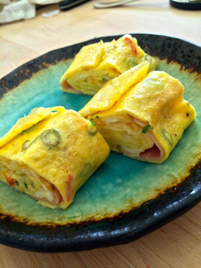 Rolled Egg Omelet