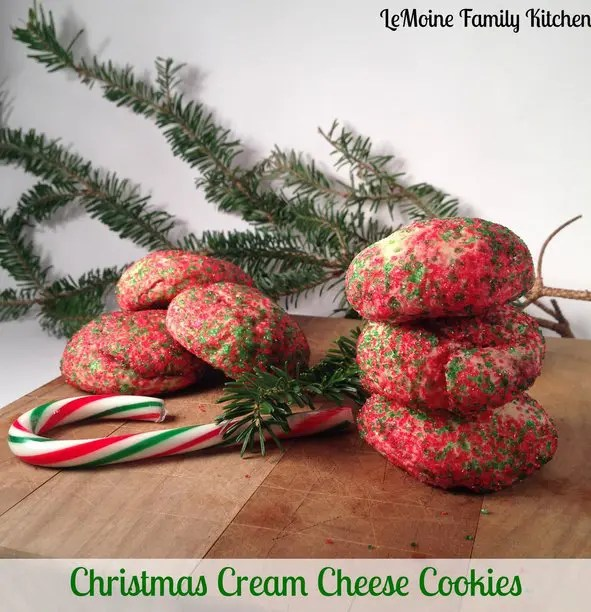 Recipe for Christmas Cream Cheese Cookies