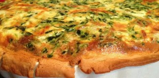 Recipe for Spinach and Artichoke Quiche