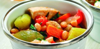 Recipe for Chunky Chicken Vegetable and Rosemary Stew