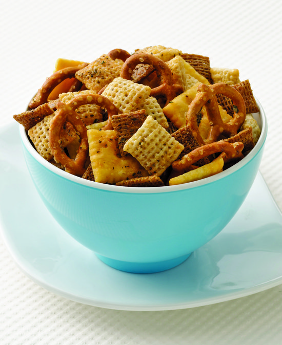 Recipe for Buffalo Chex Mix