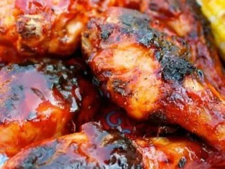 Recipe for Spicy Korean BBQ Chicken