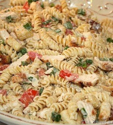 Recipe for Chicken Caesar Pasta Salad