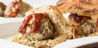 Recipe for Italian Turkey Meatball Sliders