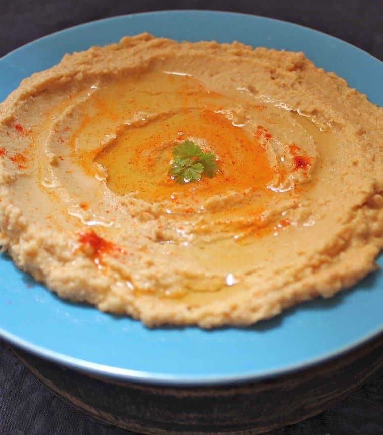 Recipe for Simple Hummus