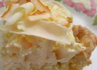 Recipe for Worlds Best Triple Coconut Cream Pie