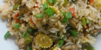 Recipe for Quick Veggie Fried Rice