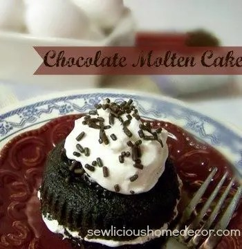 Chilis Knockoff Chocolate Molten Cake