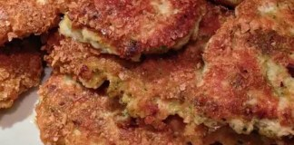 Recipe for Homemade Golden Chicken Patties