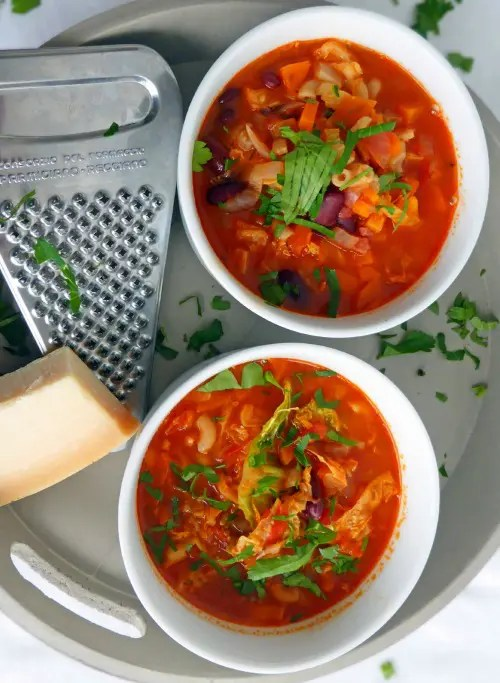 Recipe for Minestrone Soup