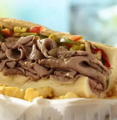 What is it about a savory, juicy sandwich that hits all the notes for us? This Slow Cooker Chicago-Style Italian Beef would make a perfect weeknight dinner.