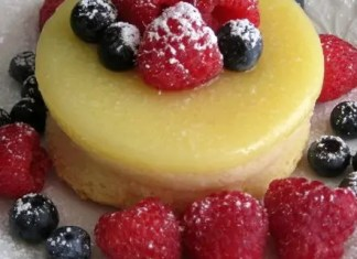 Recipe for Lemon Pudding Cake