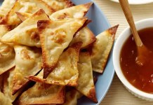 Recipe for Crispy Thai Pork and Shrimp Wontons