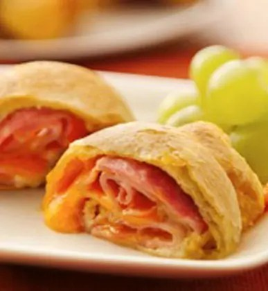 Recipe for Ham and Cheese Roll-Ups