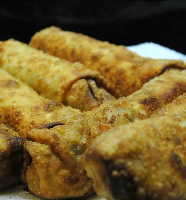 Chicken and Veggie Egg Rolls