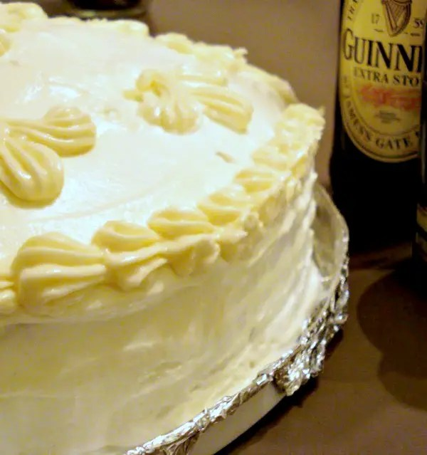 Chocolate-Guinness Cake With Baileys Buttercream Icing