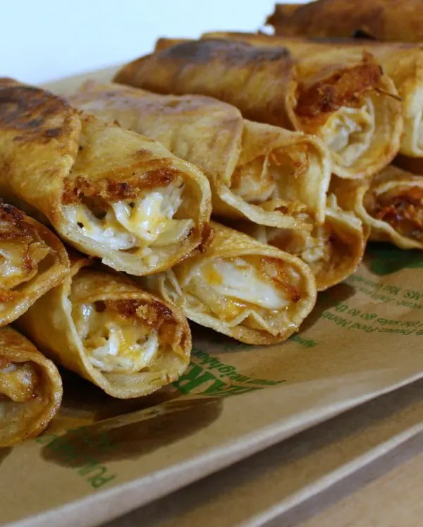 Recipe for Fried Chicken Rollups
