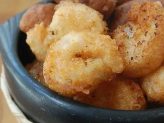 Recipe for Homemade Beer Battered Shrimp and Hush Puppies