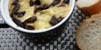 Recipe for Baked Brie and Sundried Tomato Dip