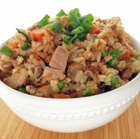Recipe for Healthier Pork Fried Rice