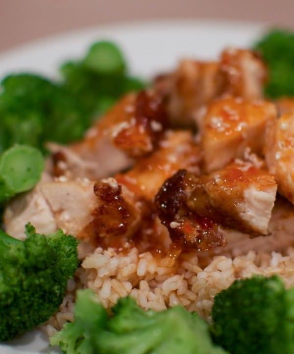 Healthier Sesame Chicken