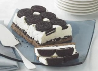 Recipe for Cookies and Cream Cake