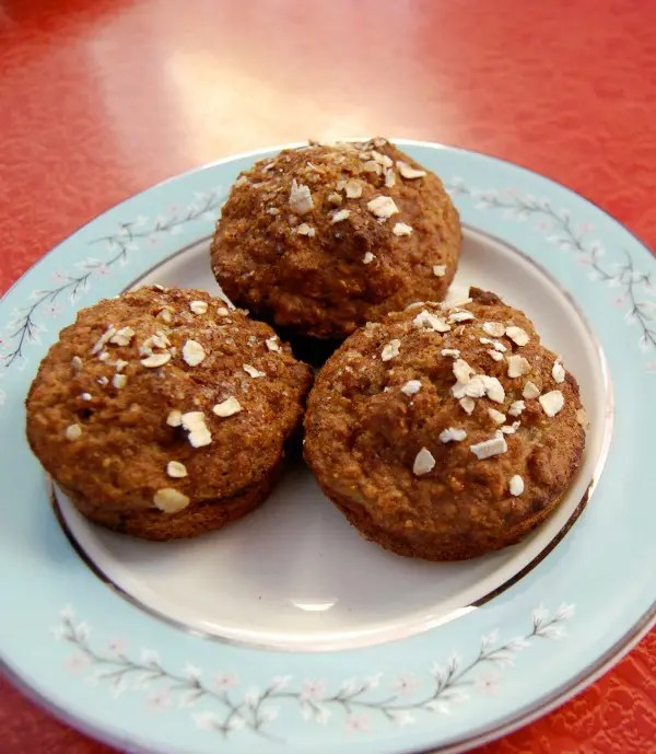 The children are crazy about these Low-Fat Applesauce Muffins and they are usually unimpressed with my baking because they are not fans of the healthy substitutions I try.