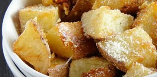 I make mashed potatoes, roasted potatoes, hasselback potatoes, and even grilled potatoes all the time! However, Parmesan roasted potatoes provide a taste that beats them all!