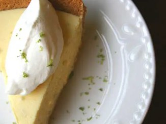 Recipe for Key Lime Pie - This pie is tart and citrusy. The whipped cream adds just the right amount of sweetness and the graham cracker crust lends the perfect crunch.