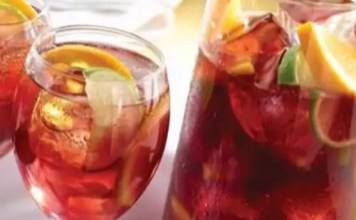 Recipe for Sparkling Sangria Tea