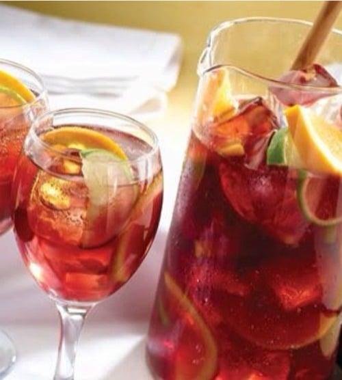 Recipe for Sparkling Sangria Tea