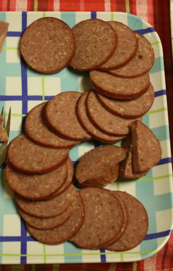 Recipe for Homemade Summer Sausage - This summer sausage is delicious, and the recipe makes enough to serve at a small gathering.