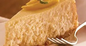 Recipe for Tropical Breeze Mango-Coconut Cheesecake